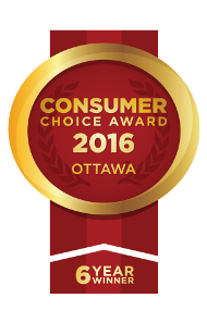 Consumer Choice Award 2016 - 6 Year Winner